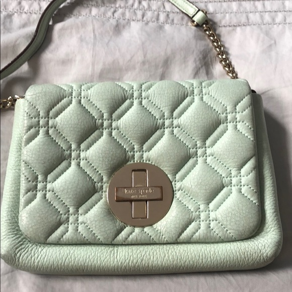 Kate Spade Mint Green Crossbody Bag